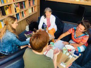 Mit Gabriele Graff, Bianca Sobisiak und Susanne Lorenz August 2019 2